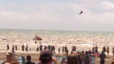 Swimmer missing and two critical at Camber Sands
