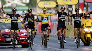 Chris Froome clinches third Tour de France title