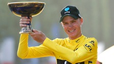 Chris Froome wins historic third Tour de France title