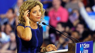 Democratic National Committee chair Debbie Wasserman Schultz resigns amid leaked emails row