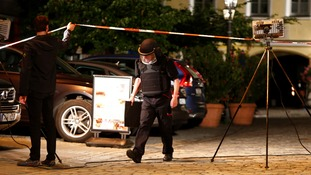 Suspected bomber kills himself and injures 12 in Germany