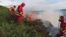 Stark warning about the dangers of deliberate grass fires