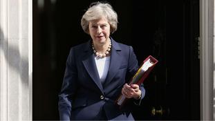 New PM Theresa May makes first NI visit