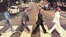 The cover of The Beatles&#x27; Abbey Road album.