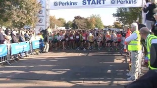 Runners set off on Great Eastern Run