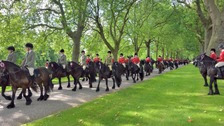 Cumbria's Fell ponies meet the Queen at Windsor Castle