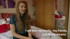 Ukrainian teenager's battle to stay with family who rescued her