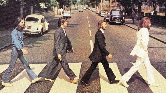 The Beatles&#x27; Abbey Road album cover