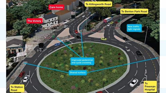 Blue House and Haddricks Mill roundabouts revamp: What are the ...