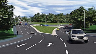 Plans have been unveiled for revamps at Blue House and Haddricks Mill roundabouts
