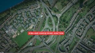 Four men arrested following fatal collision in Gateshead