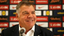 Sam Allardyce during the England manager Media conference today.