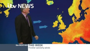 Weather: This week - fresher westerly winds