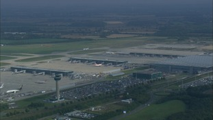 A plane from Stansted was directed into the path of another aircraft by an over-worked air traffic controller.