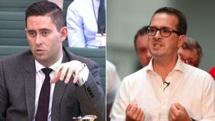 Tom Blenkinsop (left) is backing Owen Smith