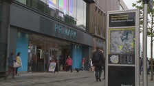 Primark store in Newcastle