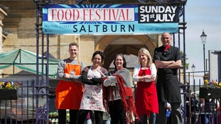 Final preparations being made for Saltburn Food Festival