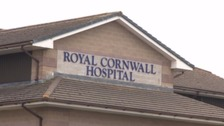 The Royal Cornwall Hospital remains on Black Alert.