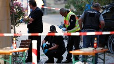 Germany suicide bomber pledged allegiance to IS