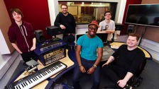 Teesside record company gets students in a spin