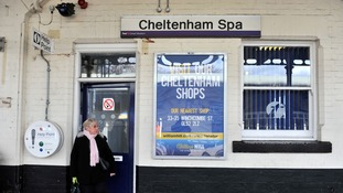 Armed response team deployed after reports of shots being fired at train in Cheltenham