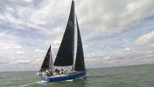 Hundreds of sailors compete in Ramsgate's regatta