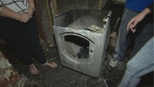 'Tumble dryer' fire guts house in the Rhondda