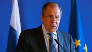 Russian Foreign Minister Sergei Lavrov denies Moscow was behind hacking of US Democratic Party emails