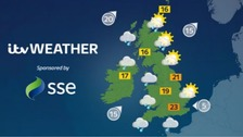 Weather: A bright start in the east but cloudy for most