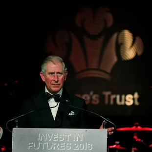 The Prince of Wales president of the Prince's Trust,