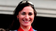 Paralympian Dame Sarah Storey coaches future champion cyclists