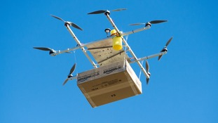 Amazon speeds up bid to deliver packages by drone to British customers