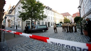 Bomber kills himself and injures 15 in Germany 'terror attack'