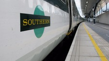 Southern commuters delayed again after train is sprayed with graffiti