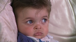 Joey Ziadi seen above in 2014, has now found a matching blood donor after being diagnosed with Diamond Blackfan Anaemia when he was just nine months old Joey Ziadi seen above in 2014, has now found a matching blood donor after being diagnosed with a rare form of anaemia