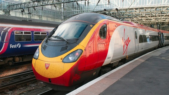 Virgin train