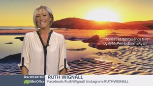 Wales Weather: All very wet out there!