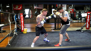 IN PICS: Frampton preparing for title bout in NYC