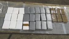 Thirty kilos of cocaine seized at Dover