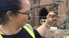 Medieval floor tiles prove building theory at Carlisle Cathedral
