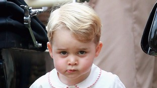 Prince George recently turned three