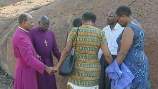 Dr John Sentamu led prayers
