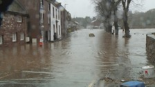 Appleby during the floods