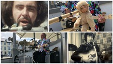 Meet Wales' hardest working busker!