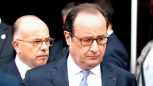 Mr Hollande said the threat of Islamic militancy had never been so great