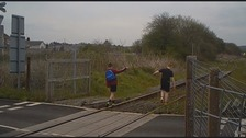 Young people are being warned not to trespass on the railways