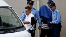 Japan stabbing suspect taken to see prosecutors