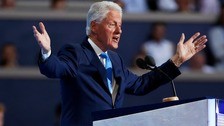 Bill Clinton calls voters to back 'change-maker' Hillary