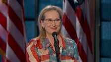 Meryl Streep: Hillary Clinton will be our first woman president