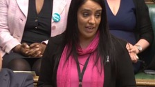 Woman arrested over alleged threats to MP Naz Shah
